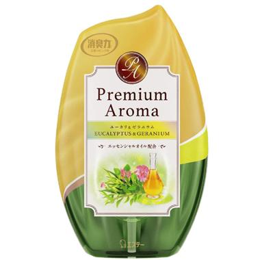 【玄関・お部屋用】お部屋の消臭力 Premium Aroma ユーカリ&ゼラニウム