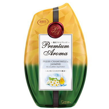 【玄関・お部屋用】お部屋の消臭力 Premium Aroma フレッシュカモミール&ジャスミン