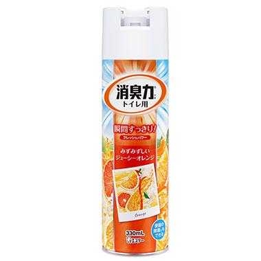 【トイレ用】トイレの消臭力スプレー オレンジ