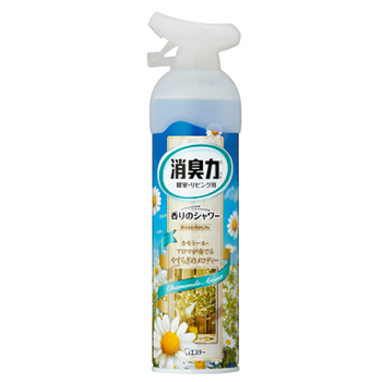【玄関・お部屋用】玄関・リビング用 消臭力 香りのシャワー カモミール
